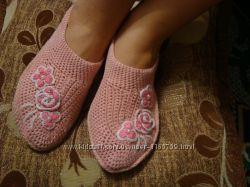 Носки тёплые, гламурные