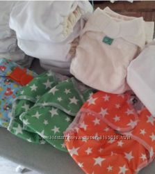 многоразовые подгузники на новорожденных