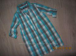Рубашка туника 9-10лет р. 140  котон