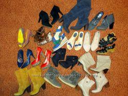Много фирменной обуви рассмотрю обмен