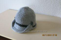 шапочки-жокейки для мами і доні