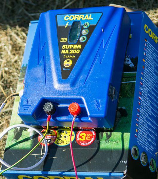 Генератор электропастуха Corral NA200