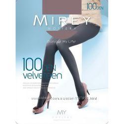 Матовые колготки из микрофибры Velveteen 100 ден