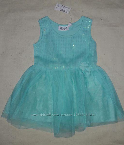 Шикарное нарядное платье childrens place Оригинал