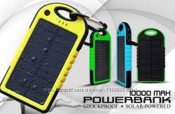 Внешний аккумулятор Power Puls 10000 mAh с солнечной панелью