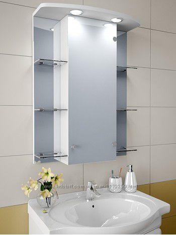 Шкаф зеркало в ванную комнату
