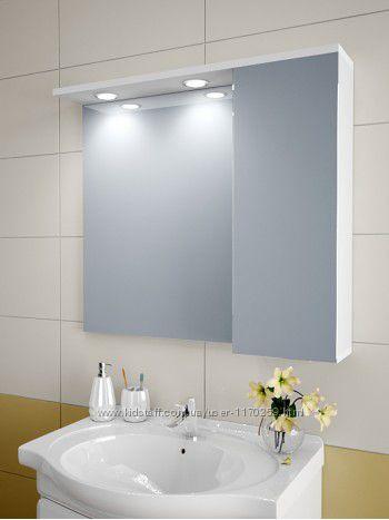 Зеркальный шкафчик в ванную А80-S