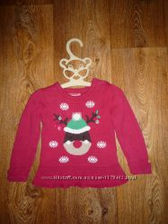 Праздничный свитерок
