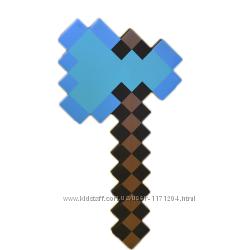 Алмазный топор мотыга майнкрафт ORIGINAL  Minecraft