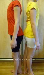 Цветные футболки  отличного качества, модели