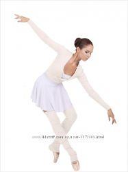 Разогрева балеро для танцев и гимнастики ангора.  Цвет черный, молоко.