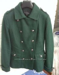Пальто изумрудного цвета TOP SECRET
