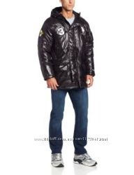 Новая мужская курточка US Polo черного цвета.