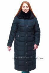 Пальто женское зимние батал больших размеров
