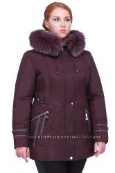 Куртка женская зимняя Куртки зимние батла больших размеров