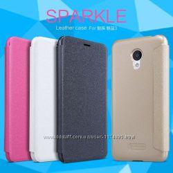 Кожаный чехол книжка Nillkin Sparkle Series для Meizu M3  M3 mini  M3s