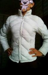 Зимняя белая куртка