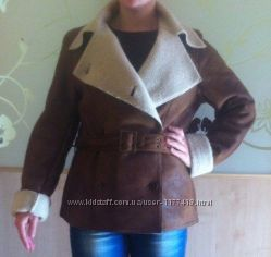 Искусственная дубленка полудубленка-куртка Esprit, L 48р