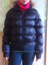 Дутая куртка на синтепоне s