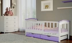 Кровать подростковая от 3 лет для девочки 80 на 190 см