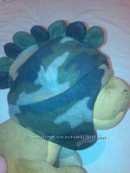 Флисовая шапка Дракоша для мальчика