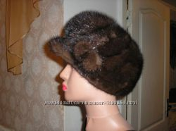 шапка -кепка норка размер 57-58