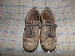 Туфли кроссовки, ботинки Ecco, кожа р. 36-37, 5, ст-23, 3