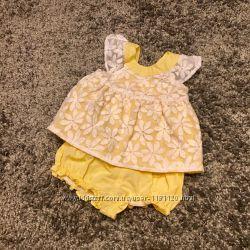 Летнее платье 3-6 месяцев