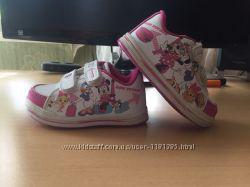 Стильные кроссовки для девочки Дисней Disney Minnie Mouse Минни маус