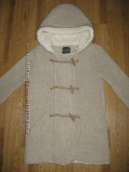 Стильная вязанная  куртка Zаrа, размер S - М.