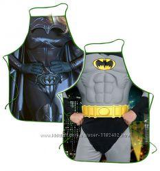 Набор прикольных фартуков для влюбленных пар Бетмен и Бетменша с пропиткой