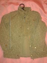 Куртка хакі для дівчинки Н&М р. 7-8