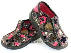 Текстильные босоножки для девочки Tosia Zetpol 22-27