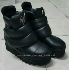Очень тёплые ботиночки