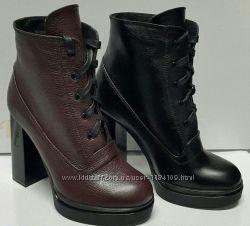 Стильные ботиночки из натуральной кожи