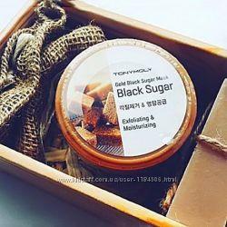 Корейская косметика. Масажная маска-скраб с черным сахаром