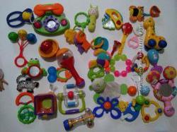 Игрушки для новорожденного прорезователи погремушки грызуны музыкальные