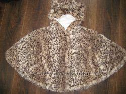 продам фирменное меховое пончо и пальто
