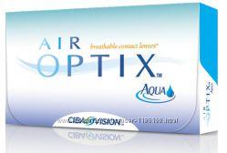 Air Optix Aqua и HydraGlyde Бесплатная доставка