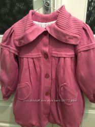 Детское пальто демисезонное френч