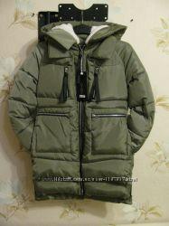 Куртка парка зимняя новая Китай