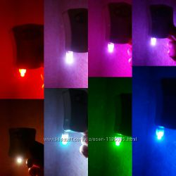 В наличии Ночник LED подсветка унитаза с датчиком движения  8 цветов