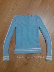 Кофта, свитер голубой размер S