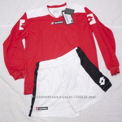 Фирменный костюм Lottо футболка длинный рукав шорты 164-176, Xl, 140-152, М