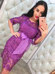 Шикарное платье туника кружево