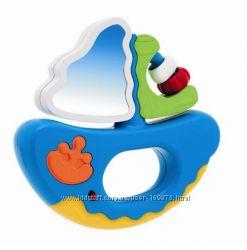 Chicco игрушка музыкальный кораблик