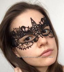 Кружевная ажурная маскарадная маска для вечеринки фотосессии