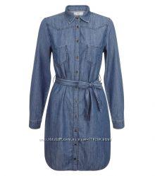 Джинсовое платье-рубашка, Англия.