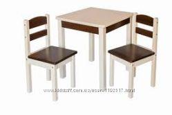 Стол и два стула для дошкольника
