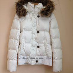 Пуховая куртка белая Ostin